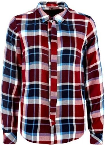 2a46a4acc9a s.Oliver dámská košile 40 červená - Glami.cz