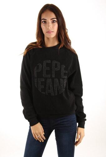 1b3cb1783 Pepe Jeans dámská černá mikina Cameron - Glami.cz