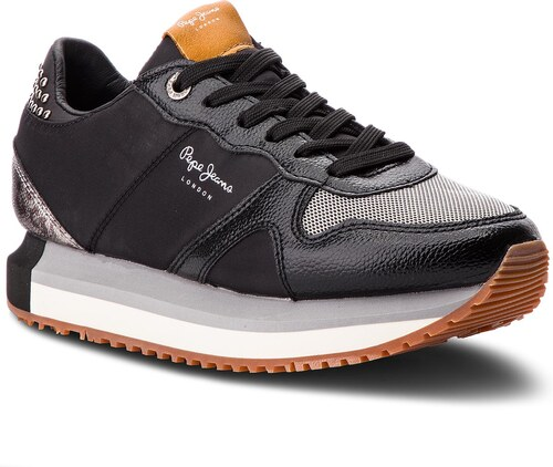 4b0fd44493 Sneakersy PEPE JEANS - Zion Studs PLS30787 Black 999 - Glami.cz