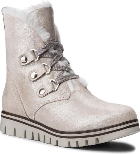 bd5b2ae3695c Členková obuv MARCO TOZZI - 2-26288-21 White Metallic 132 - Glami.sk