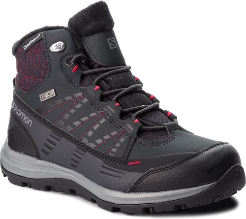 Bakancs SALOMON - Kaina Cs Wp 2 404728 21 V0 Phantom Black Beet Red ... 0f304841d3