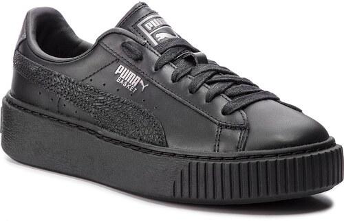 Sneakersy PUMA - Basket Platform Euphoria Metal 367850 02 Puma Black Puma  Aged Silver 2f208076d6f