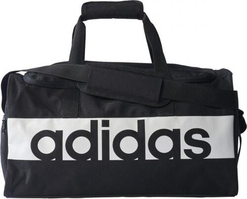 cdc69192ae Taška adidas Performance LIN PER TB S (Čierna   Biela) - Glami.sk