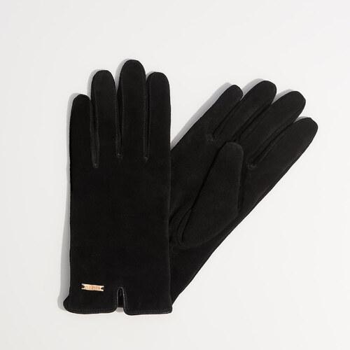 433f1a69fc1 Mohito - Kožené rukavice - Černý - Glami.cz