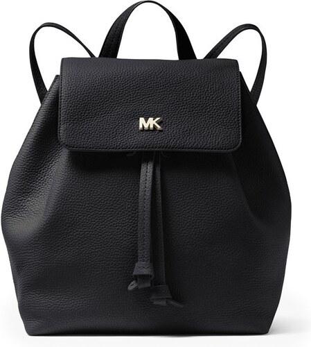 c5192de6d7 Batoh Michael Kors Junie Md Flap Backpack černý 30T8TX5B2L - Glami.cz