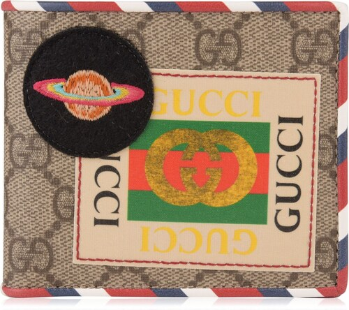 Peňaženka Gucci Patch Logo Gg Wallet - Glami.sk 915eea29358