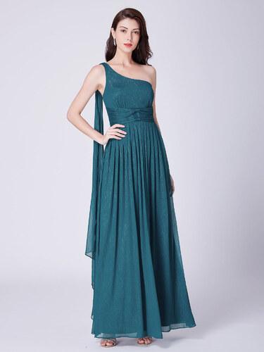 0c19c9f0e7d3 Ever Pretty luxusní zelené šaty 7474 - Glami.cz