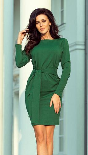 6d59d69039c1 NUMOCO Zelené elegantné dámske šaty 209-2 - Glami.sk