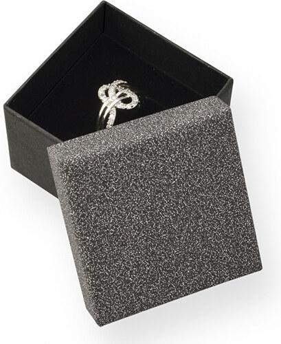 JK Box Elegantní dárková krabička na prsten MG-3 A25 - Glami.cz 32d39e97479