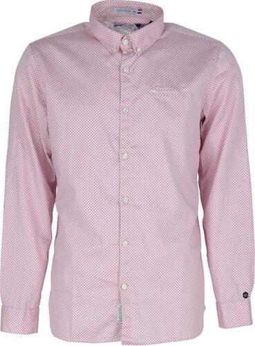 5fb5ec65ffd Noize Pánská košile Bright Pink 4446105-00 - Glami.cz