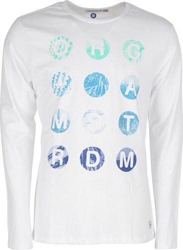f4e0cae8c0a5 Noize Pánske tričko s dlhým rukávom White 4414200-00 - Glami.sk