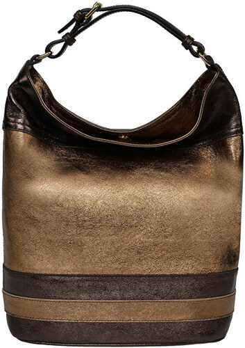 Carla Ferreri Elegantná kožená kabelka CFP10 ORO TESTA MORO - Glami.sk 68dd74a8b26