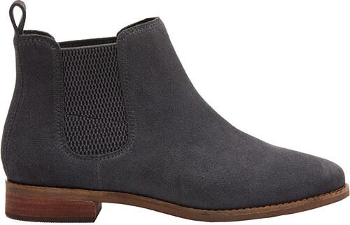 22724cf8fc7 TOMS Dámske sivé topánky Fi Grey Suede Ella - Glami.sk