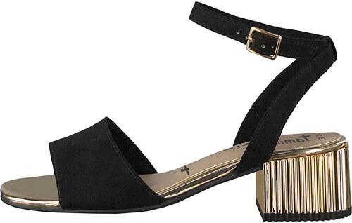 3f64d1d0e5620 Tamaris Dámské sandále 1-1-28390-20-001 Black - Glami.cz