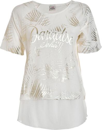 Deha Dámske tričko Fleece Tee B74372 Lily White - Glami.sk 6d1e7ce388