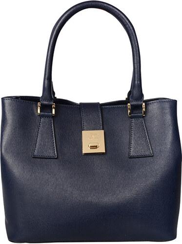 80457c1dc J&C JACKYCELINE Dámska kožená kabelka Borsa Pelle S16B301-09-014 Dark Blue