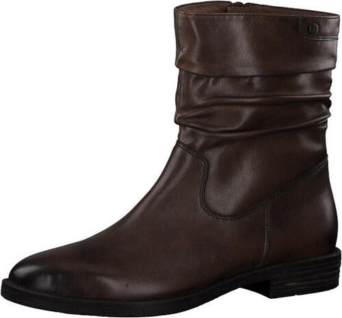 ac1cc497eb2c Tamaris Dámske členkové topánky 1-1-25014-21-305 Cognac - Glami.sk