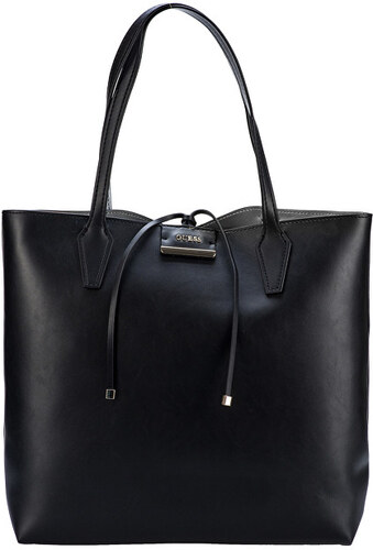 3a0fa88bf Guess Dámská kabelka Guess Bobbi Oversized Reversible Shopper Tote Set Black
