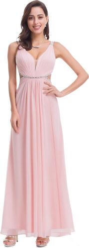 Ever Pretty Sexy růžové šaty s průstřihy 7081 - Glami.cz c18b336ce6