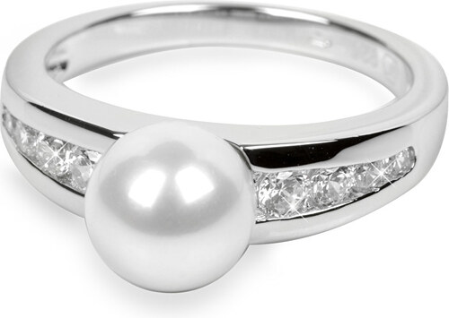 62123cf95 Silver Cat Stříbrný prsten s krystaly SC076 - Glami.cz