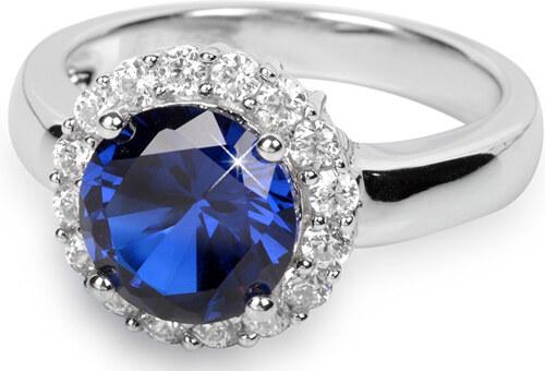 efc23358c Silver Cat Stříbrný prsten s krystaly SC022 - Glami.cz
