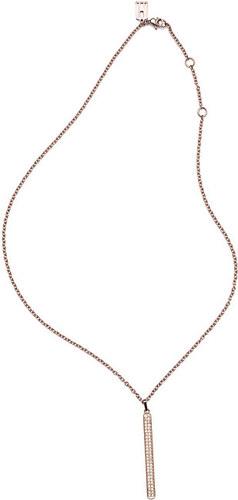 ab21353ee Tommy Hilfiger Elegantný náhrdelník s príveskom vo farbe ružového zlata  TH2700568
