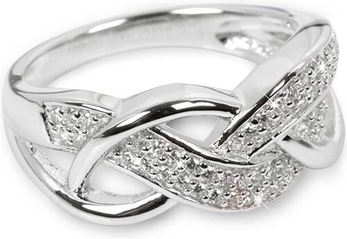 6ecfc6929 Silver Cat Stříbrný prsten s krystaly SC109 - Glami.cz
