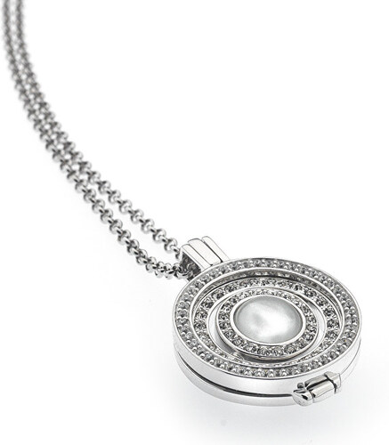 d2c08e976ab Hot Diamonds Strieborný náhrdelník Hot Diamonds Emozioni DP487EC228CH025