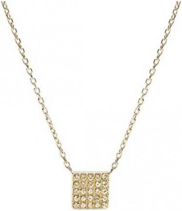 4a42fbc88 Fossil Zlatý náhrdelník s príveskom JF02263710 - Glami.sk