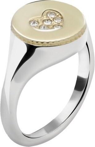 930532dd7 Morellato Oceľový bicolor prsteň Monetine SAHQ09 - Glami.sk
