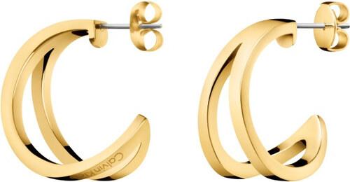 Calvin Klein Luxusné pozlátené náušnice Outline KJ6VJE100100 - Glami.sk 1dab80ebc8e