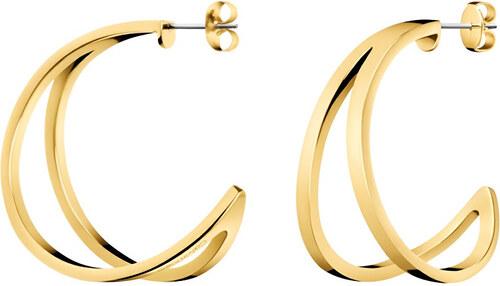 Calvin Klein Luxusné pozlátené náušnice Outline KJ6VJE100200 - Glami.sk b28c8820812