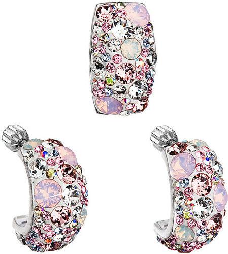 Evolution Group Romantická sada šperkov Magic Rose 39116.3 (náušnice ... 402e37113b7