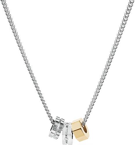 72f2deee3 Brosway Pánsky oceľový bicolor náhrdelník Octagons BOC04 - Glami.sk