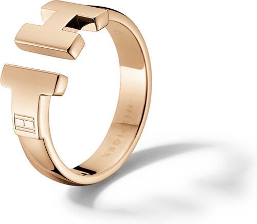 Tommy Hilfiger Luxusné bronzový prsteň z ocele TH2700862 - Glami.sk faed06879d5