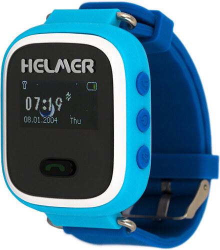 Helmer Chytré hodinky s GPS lokátorem a SIM kartou GoMobil s kreditem 50 Kč  LK 702 7252e6251d