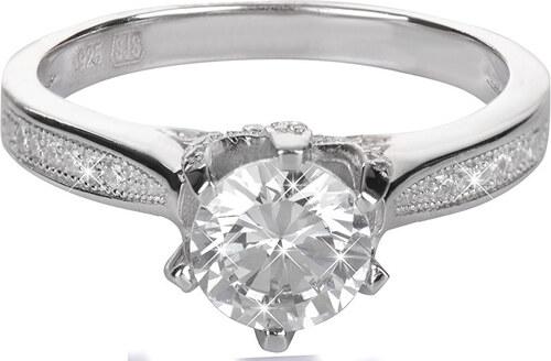 a2e9c0a4f Brilio Silver Stříbrný zásnubní prsten 426 158 00075 - 2,50 g - Glami.cz