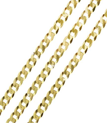 b9e528b46 Brilio Mohutný zlatý řetízek 50 cm 271 115 00245 - 14,80 g - Glami.cz