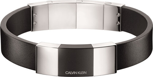 aed693f6b Calvin Klein Pánsky kožený náramok Strong KJ9LMB2901 - Glami.sk