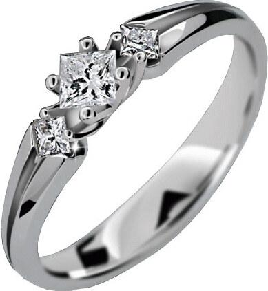 9e5507cc5 Danfil Luxusné zásnubný prsteň DLR2105b - Glami.sk
