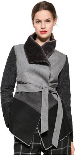 Desigual Dámský kabát Chaq Bibianne 17WWEWB1 2042 - Glami.cz fe807dfc584