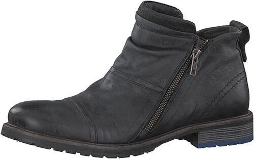 fa2f6ef803 s.Oliver Pánske členkové topánky Black 5-5-15300-29-001 - Glami.sk