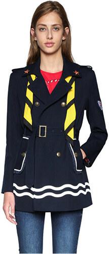 Desigual Dámský kabát Abrig Morgane 18SWEW83 5001 - Glami.cz dbbf3b622eb