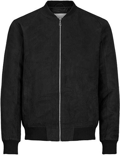 Jack Jones Pánská bunda Jorhoward Casual Bomber Black - Glami.cz 5ce89e65465