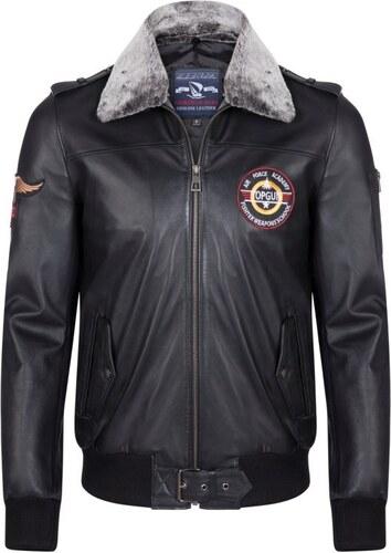 Giorgio Di Mare Pánská kožená bunda GI2508512 Black - Glami.cz 7aa4840586a