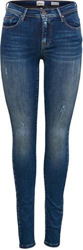 dfd6b02fe8a -35% ONLY Dámské džíny Shape Reg SK DNM Jeans REA4488 Noos Dark Blue Denim  32