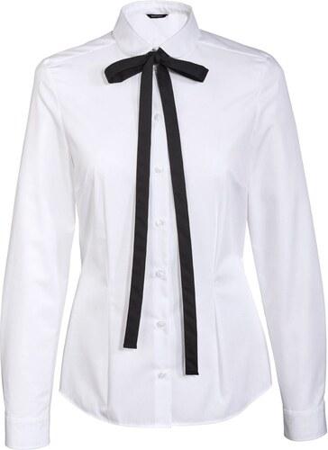 ESMARA Dámská košile (mašle bílá) - Glami.cz 961ee154e6