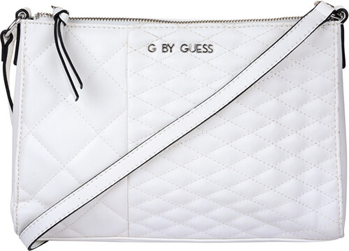 Guess Elegantní kabelka Women`s Blondin Top Zip Crossbody White ... 3f550008ddc