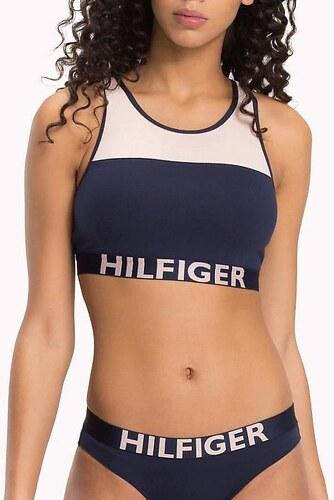 10b8b2df41 Tommy Hilfiger tmavě modrá sportovní podprsenka Fashion Bralette - L ...