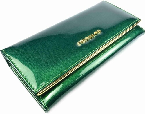 Peterson Zelená dámská kožená peněženka velká - Glami.cz 9ac2824e3b